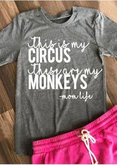 Circus & Monkeys T-S