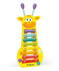 Look at this #zulilyfind! Giraffe Xylophone by Boikido #zulilyfinds
