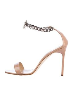 75532ea8ad3 Chain Sandals w  Tags. Manolo BlahnikLeather SandalsHope YouAnkle Strap