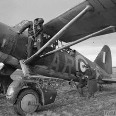 """Thursday 12 March 1942 """"Three Westland Lysander Mark IIIAs of No. 309 Polish Fighter-Reconnaissance Squadron (part of the RAF Army Coop. Aircraft Photos, Ww2 Aircraft, Westland Lysander, Air Festival, Battle Of Britain, Royal Air Force, Transport, World War Two, Wwii"""