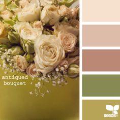 Vintage color scheme