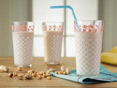 Peanut Butter and Banana Smoothie recipe from Trisha Yearwood via Food Network