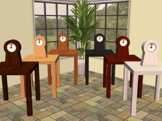 Mod The Sims - IKEA PS Clock Recolours