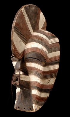"Africa | Mask ""kifwebe"" from the Songye people of DR Congo"