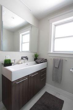 fabulous narrow bathroom sinks designs | small narrow half bathroom - Google Search … | Haus in 2019…