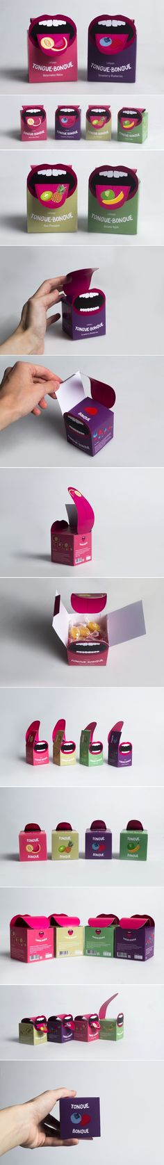 Check Out This Clever Tongue-Inspired Concept for Candy Packaging — The Dieline | Packaging & Branding Design & Innovation News
