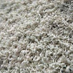 High pile carpets hide tears.