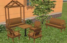 ModTheSims - Parthenon Outdoor Complete Set (+bonus)