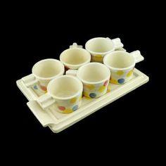 Rare-Zeisel-Schramberg-SMF-Tea-Glass-Holder-Set-1930s-Bauhaus-Art-Deco