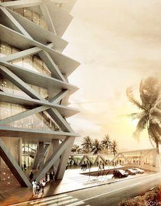 Architectural Visualizations forMario Cucinella Architects