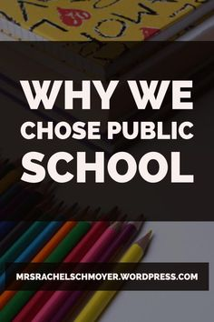 Three reasons why we chose public school for our Christian kids and some drawbacks of our public school.