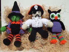 Crochet Pattern Halloween Toys Digital Download by CrochetVillage