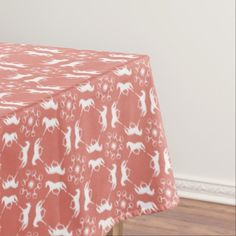 Table Cloth for horse lovers