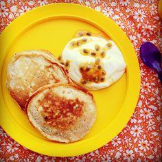 Carrot, apple & sultana mini pancakes