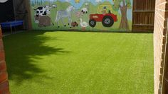 Farm Mural and easigrass