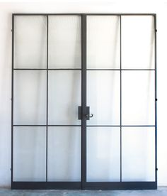 Atelier Domingue . . . steel doors & windows