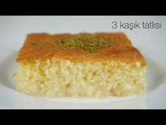 Awesome milk syrup dessert/No boiling! No waiting ! Turkish Recipes, Ethnic Recipes, Cake Pops, Cornbread, Vanilla Cake, Tea Time, Food And Drink, Sweets, Make It Yourself