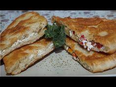 Τηγανόψωμο της Mαμάς (Δύο γεύσεις) - Ramadan pita of Mom (Two flavors) // Stella Love Cook - YouTube Phyllo Dough Recipes, Greek Recipes, Sandwiches, Curry, Cooking, Food, Breads, Easter, Youtube
