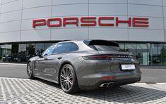 Porsche Panamera Turbo Sport Turismo Agate Grey Porsche Approved Rs Motors Porsche Centre West Vlaanderen Belgium