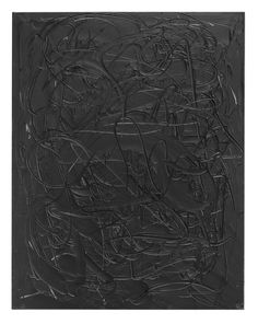 Liat Yossifor, Folding Black, 2017 Oil and graphite on linen 30 x 28 in (76.2 x 71.12 cm)