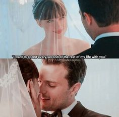 love, forever şi fifty shades of grey imagine pe We Heart It 50 Shades Trilogy, Fifty Shades Series, Fifty Shades Movie, Fifty Shades Darker Quotes, Shades Of Grey Film, 50 Shades Darker, Best Movie Quotes, Relationship Goals Tumblr, Wedding Movies