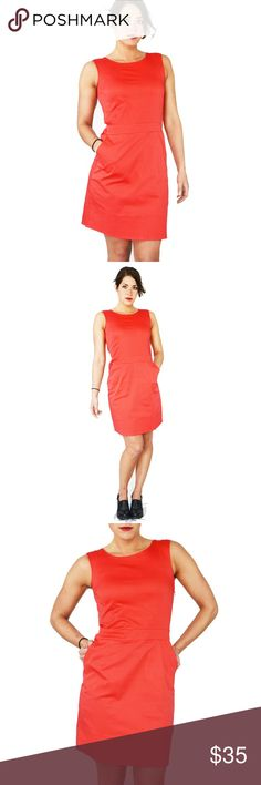 0a8b40289a0 Ethos   Amerigo Coquelicot Dress The Amerigo dress is made of 95% organic  cotton and