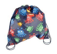 Penny Scallan Library / Swim Bag ~ Monster $24.95