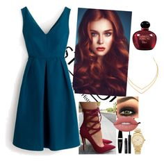 """""""Sem título #345"""" by soufykl ❤ liked on Polyvore featuring Lana, J.Crew, Christian Dior, Max Factor, Michael Kors, Stila and Lime Crime"""