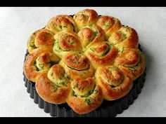 How To Make GARLIC FLOWER BREAD No Knead Bread TBEO Video #86 - YouTube