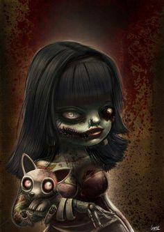 Dark art: Zombie Kiddie