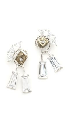 Eddie Borgo Apollo Long Stud Earring