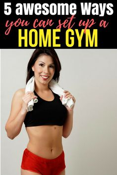 Find out the 5 awesome ways you can set up a home gym - Fitness Tips Bodyweight Training Program, Running Training Programs, Running Tips, Fitness Tips For Men, Fitness Workout For Women, Health And Fitness Tips, Fitness Workouts, Workout Routines For Beginners, Workouts For Teens