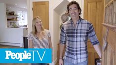 Carter Oosterhouse And Amy Smart Bring Us Inside Their Swoon-Worthy Farm... Interior Design Videos, Amy Smart, Bring It On, Men Casual, Farmhouse, Mens Tops, Cottage, Plantation Homes
