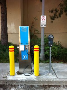One of the many perks of driving an electric vehicle, reserv Electric Station, Electric Charging Stations, Dieter Rams, Electric Vehicle, Electric Cars, Electronics Projects, Ipod Touch, Ev Charger, Magnetic Motor