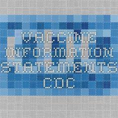 Vaccine Information Statements - cdc