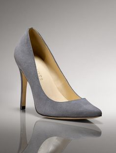Talbots - Riri Suede Pointy Toe Pump | | Medium