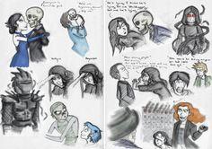 SP Book 6: Death Bringer Sketches by ~Expression on deviantART