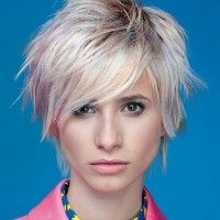short shag hairstyle for women