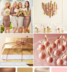 The Perfect Palette: Party Palette | Sequins + Lace