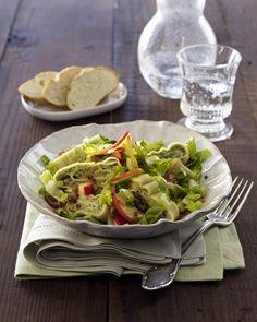 Unser beliebtes Rezept für Maultaschen-Salat und mehr als 55.000 weitere kostenlose Rezepte auf LECKER.de.