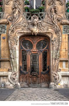 Amazing Parisian Door www.steelsecuritydoors.co.uk