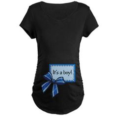 Gender Reveal - Its a boy! Maternity T-Shirt