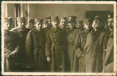 Royal Yugoslav Army (VKJ) officers in unknown POW camp, Germany - no information or stamp on reverse -  GERMAN WWII LARGE YUGOSLAVIA SERBIA HIGH OFFICERS POW PHOTO