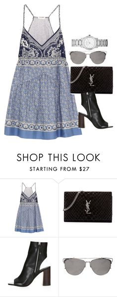 """""""Untitled #2694"""" by erinforde ❤ liked on Polyvore featuring Chloé, Yves Saint Laurent and Burberry"""