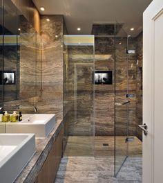 Contemporary bathroom ideas - Mixed Media London Penthouse by TG Studio