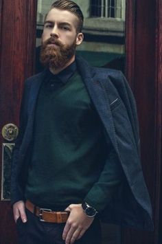 Perfect Beard and Hairstyle Looks For Men (33)