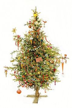Christmas Tree by Holly Hobbie More