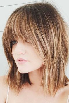 Layered haircuts for medium hair are fun, flirty, and trendy.