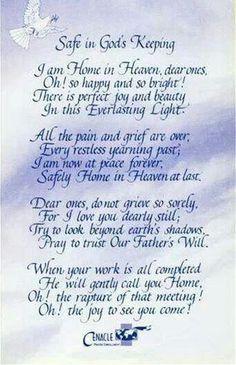 Safe In Gods Keeping