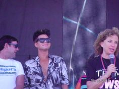 #MiamiPride2013 Adam Lambert moments after receiving the Keys To The City of Miami award